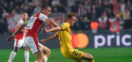 Groep F: Barça nipt langs Slavia Praag, Inter verslaat Dortmund