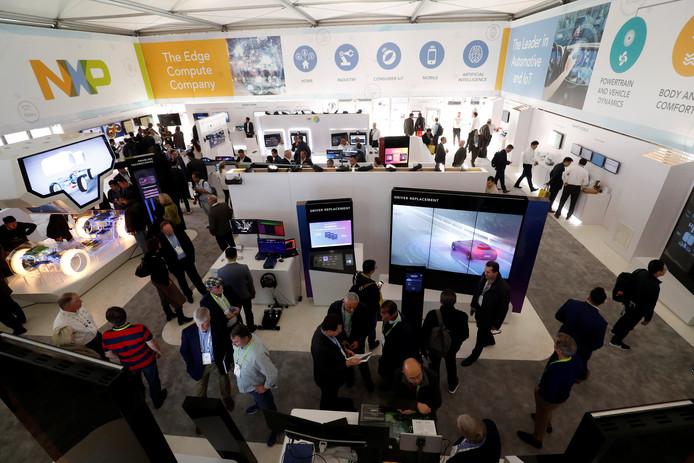 NXP presenteerde zich begin januari op de consumenten elektronica show (CES) in Las Vegas.
