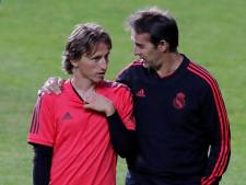 Real: Modric op de bank, Courtois op tribune