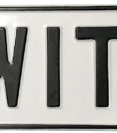 Toch NL-sticker nodig op witte kentekenplaat