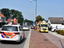Kop-staartbotsing op Eperweg in 't Harde