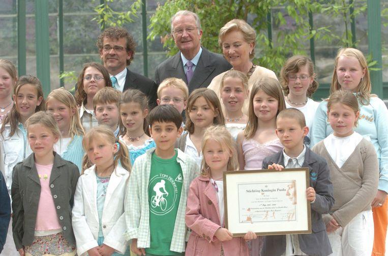 Het project rond het thema pesten, waarin leerlingen ruzies moesten uitpraten in het peper- en zouthuisje - werd in 2006 zelfs bekroond met de Koningin Paolaprijs.