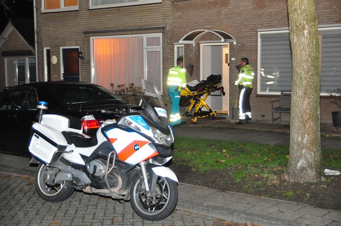 Woningoverval op de Prof. Piersonstraat in Waalwijk op dinsdag 4 december 2018.