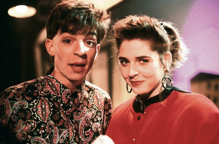 Koen Wauters en Francesca Vanthielen in 1989