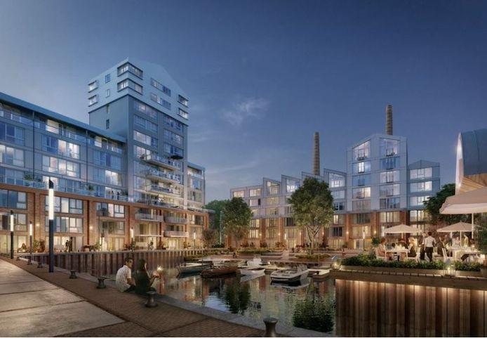 Nieuwbouwlocatie Wilhelminawerf is onderdeel van de Merwedekanaalzone.
