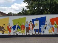 Muurschilderaars, denk aan de buren en voorkom wat Luc Verschuuren in Oisterwijk overkwam