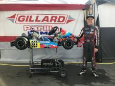 Bodegraver Tristan (11) mist finale op WK Karten in Le Mans