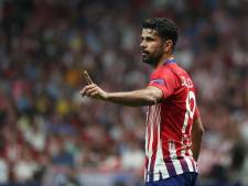 Costa terug bij Atlético, Giménez valt weg