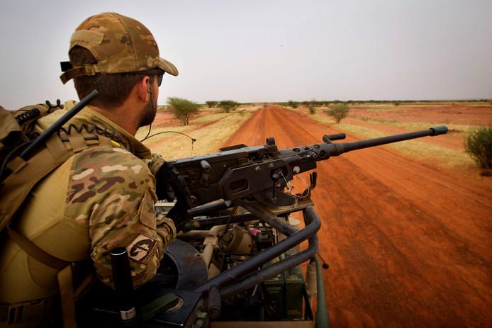 Nederlandse soldaat in Mali