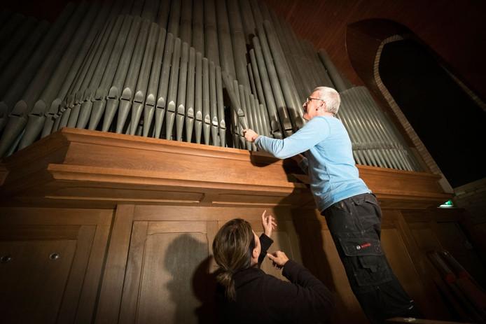 Het orgel in Bemmel krijgt een grote opknapbeurt