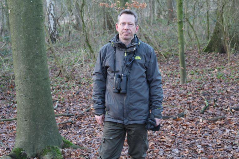 Boswachter Filip Van den Bossche waarschuwt voor de gevaren van stroperij.