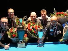 Bekerfinale driebanden opnieuw naar Oosterhout