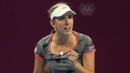 Beresterke Mertens pakt nu ook scalp van ex-nummer één Kerber en staat in finale Doha