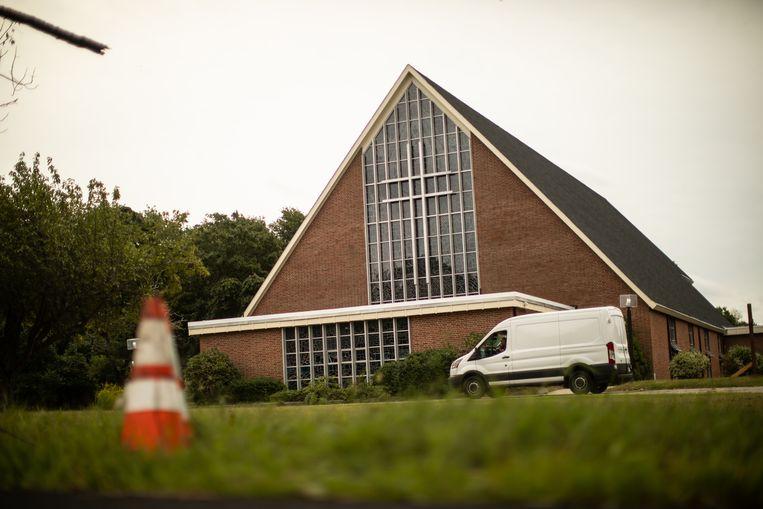 Het oude kerkgebouw werd door het aartsbisdom van Boston verkocht om schadevergoedingen te kunnen betalen aan de slachtoffers van seksueel misbruik. Beeld Erik Jacobs