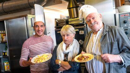 Andy Peelman en 'Nonkel Jef' stellen nieuw theaterstuk voor met... spek met eieren