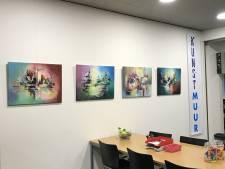 'Kunstmuur' in Nijverdal in ere hersteld