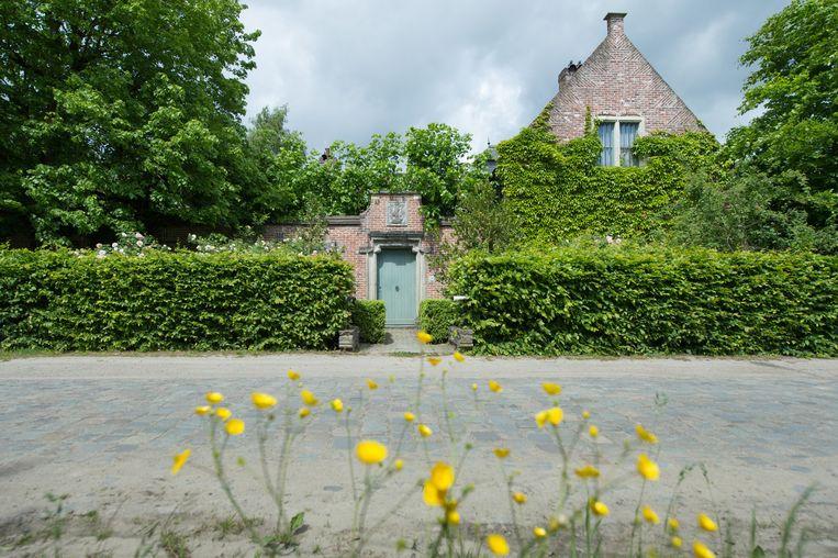 Het huis in de Willendriesstraat waarvoor een overeenkomst is met de monniken. Hier komt de nieuwe tempel.