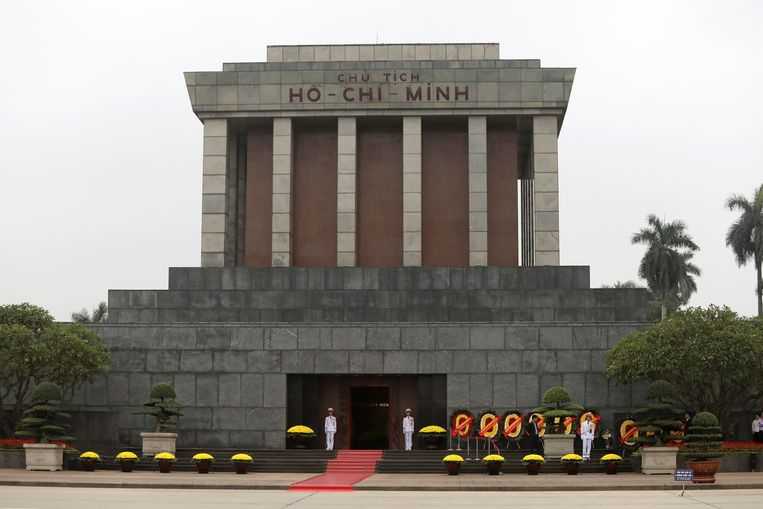 Het mausoleum van Ho Chi Minh