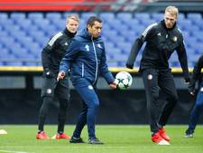 Larsson op trainingsveld in aanloop naar duel met Manchester City
