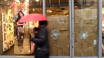 Zeven van de negen verdachten van opsporingsbericht rellen Brussel geïdentificeerd
