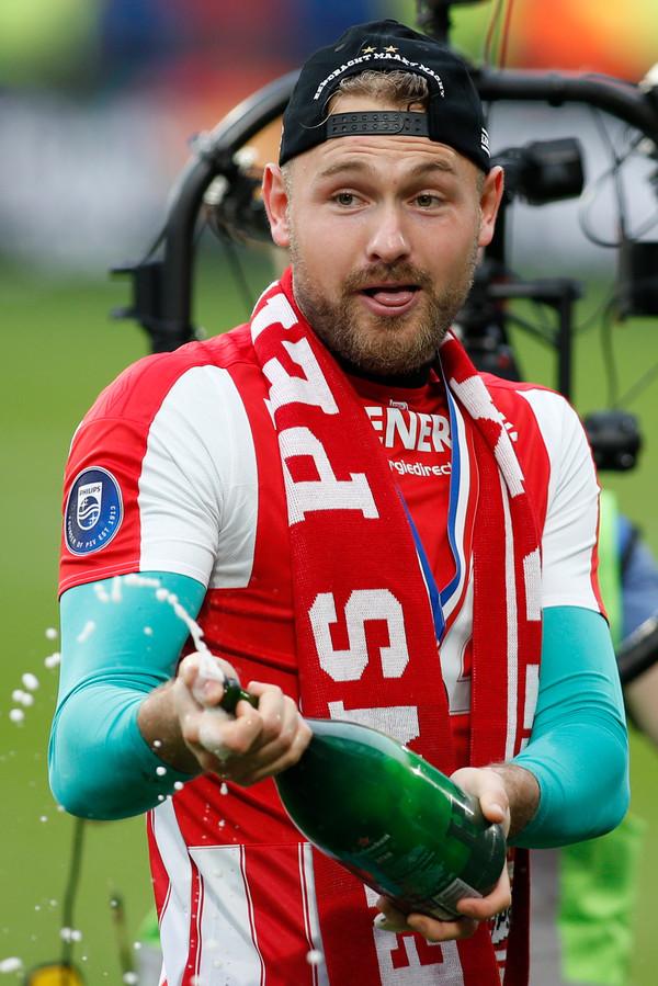 Jeroen Zoet is de winnaar van het ED-klassement voor PSV'ers.