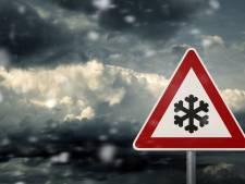 Eerste sneeuwbuien van 2020 trekken over Zeeland