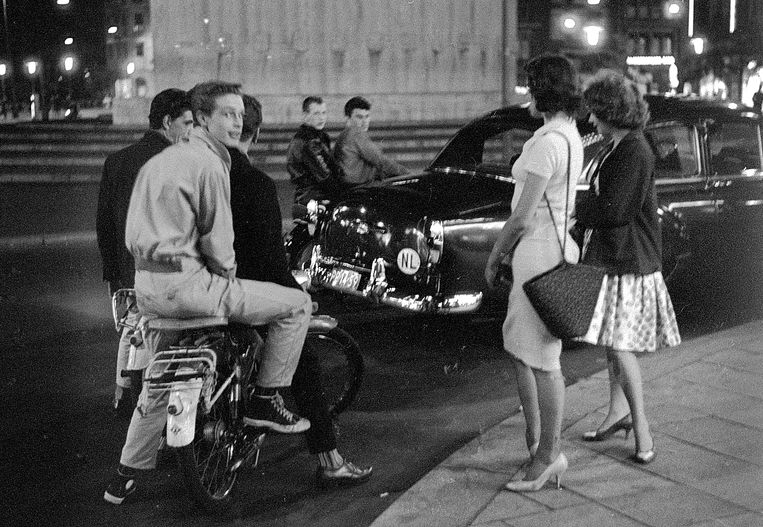 Amsterdam, 1959.  Beeld Eddy Posthuma de Boer