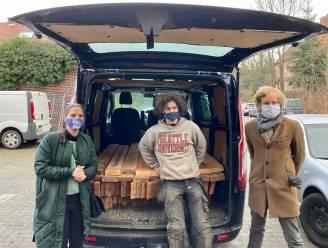Bouwmaterialen oude schietstand krijgen tweede leven: startschot voor 'urban mining' in Leuven