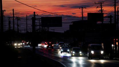Nog altijd 430.0000 mensen zonder stroom in Japan door tyfoon Faxai