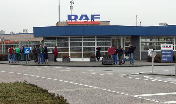 De vestiging van DAF Trucks in Oevel (Westerlo).