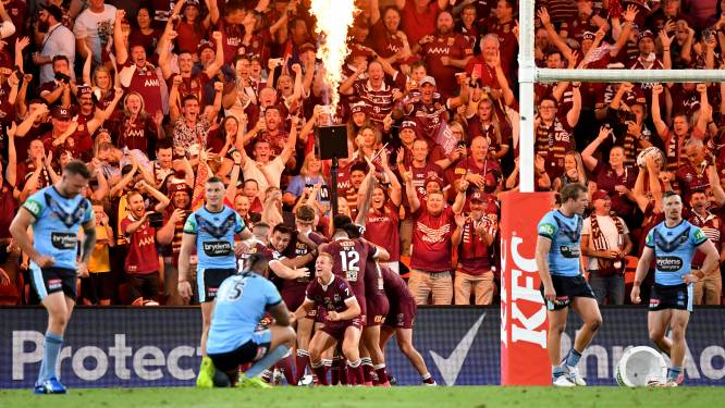 Topsport in volle stadions, het bestaat nog in Australië: 52.500 fans wonen perfect legaal rugbywedstrijd bij