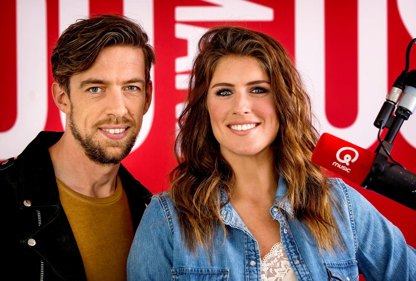 Mattie en Marieke van Qmusic.
