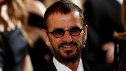 """Beatle Ringo Starr geridderd: """"Ik was een beetje bibberig in mijn eentje"""""""
