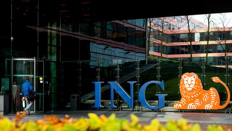 Exterieur van het hoofdkantoor van ING. Beeld anp