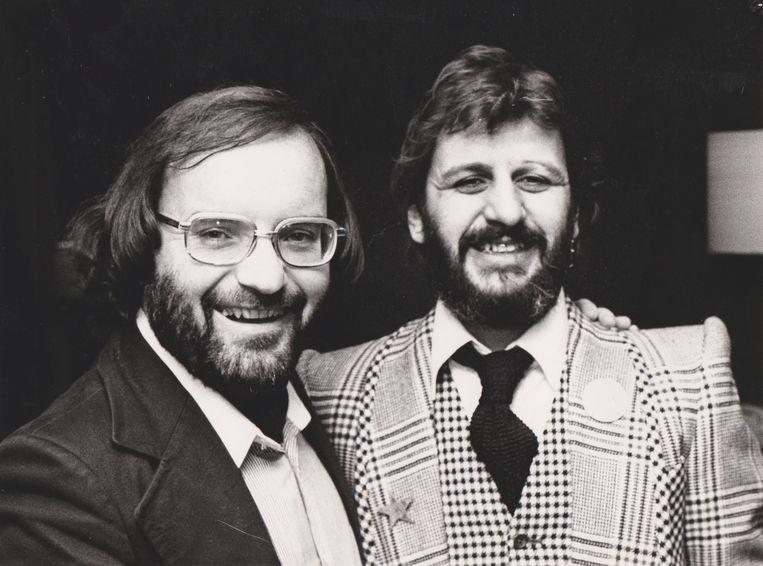 Bunders met Ringo Starr. Beeld Ben Bunders