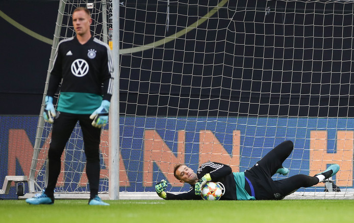 Manuel Neuer et Marc-Andre ter Stegen