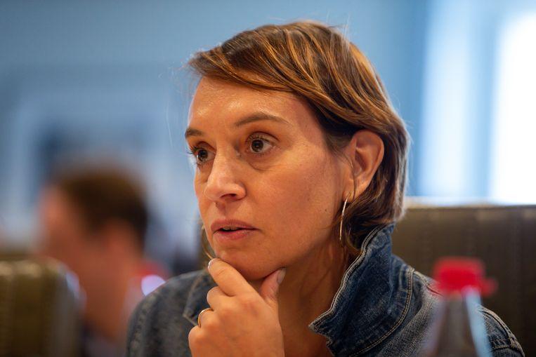 Elisabeth Meuleman (Groen). (10/10/2019)