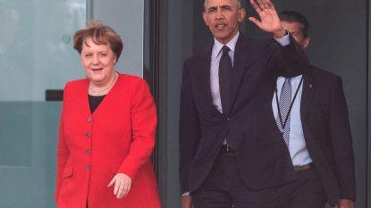 Obama op bezoek bij Merkel, hoopt op ander Amerikaans klimaatbeleid