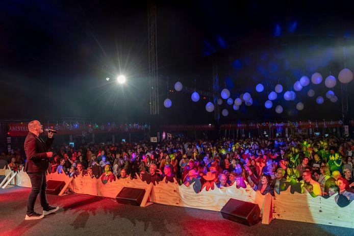 Frank van Etten tijdens de Hollandse Avond op het Brabantse Wal Festival vorig jaar.
