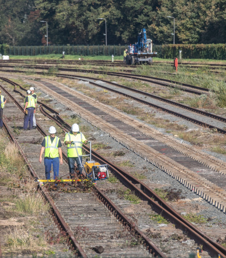 Grootschalig zandtransport voor modern rangeerterrein in Zwolle