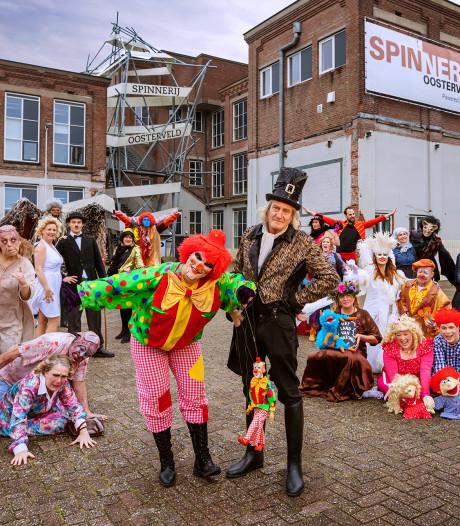 Mystiek Theater strijkt neer in Spinnerij in Enschede