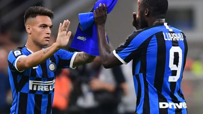 Inter wint zuinig tegen Udinese, Lukaku scoort niet en wordt na 65 minuten gewisseld