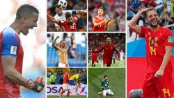 Van Halldórsson tot Mertens: ons WK-elftal van de eerste speeldag