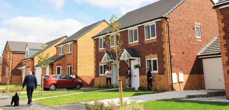 Een impressie van de huizen die binnenkort in de verkoop gaan.