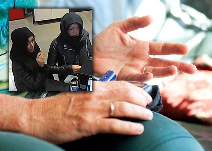 In een andere oplichtingszaak, begin dit jaar, deden deze twee vrouwen zich ook voor als nepverplegers om een huis binnen te komen. De politie zoekt ze nog steeds. Voor zover bekend is er geen relatie met de gebeurtenissen in Utrecht, maar ze voldoen wel aan hetzelfde signalement.