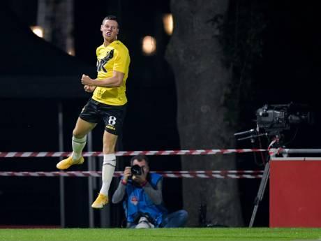 NAC-aanvaller Venema houdt dubbel gevoel over aan zege in Utrecht: 'Blij met goal, niet met spel'