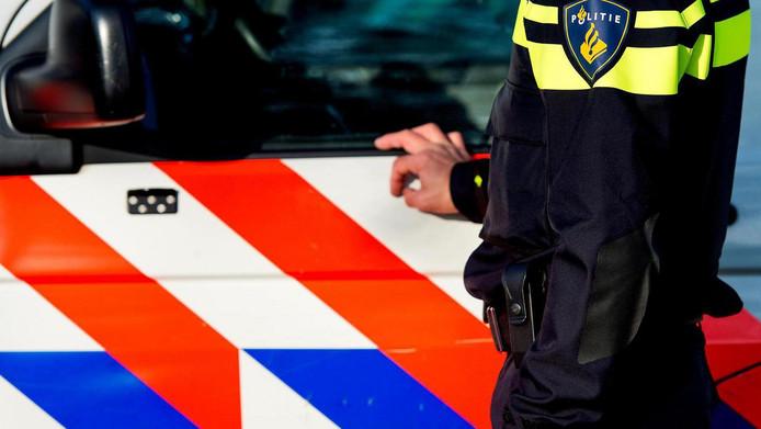 2014-11-21 10:55:59 AMSTERDAM - Het nieuwe politieuniform. ANP KOEN VAN WEEL