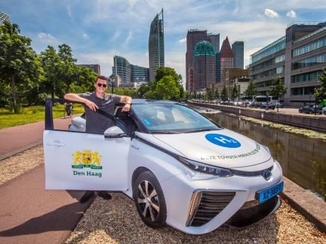 Waterstofauto baart opzien: 'Dankzij dit vervoer wordt de lucht in Den Haag schoner en gezonder'