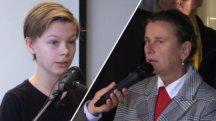 Lars (12) spreekt provincie toe en clasht met PVV'er Faber
