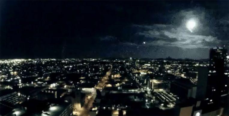 De mysterieuze lichtflits boven Phoenix.